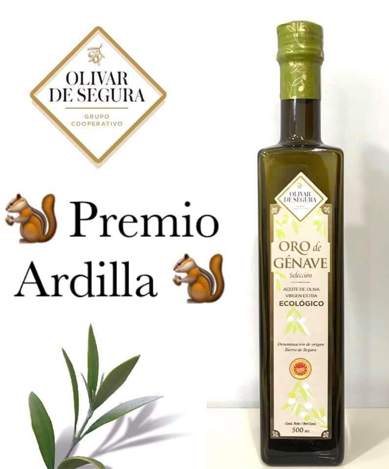 Oro de Génave Premio Ardilla